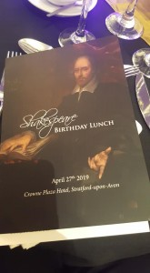 Shakespeare Lunch